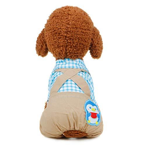Kostüm Batman Bib Baby - Jcloris Dog Clothing Pet Clothes Puppy Dog   Bib Four-Legged Clothes Pet Clothing@Blau_XXL