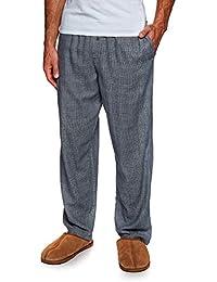 91d352c537323 Calvin Klein Sleep Pant Pyjamas Large Maple Plaid Bold Navy