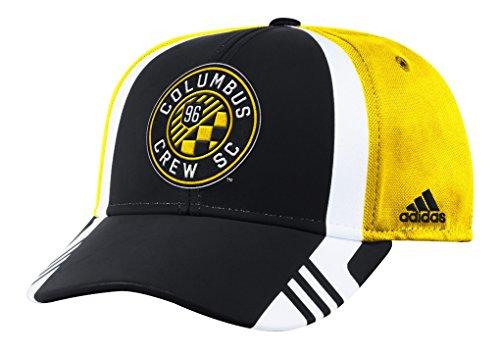 Columbus Crew Adidas MLS 2017 Authentic Team Structured Adjustable Hat Hut (Columbus Crew Hat)