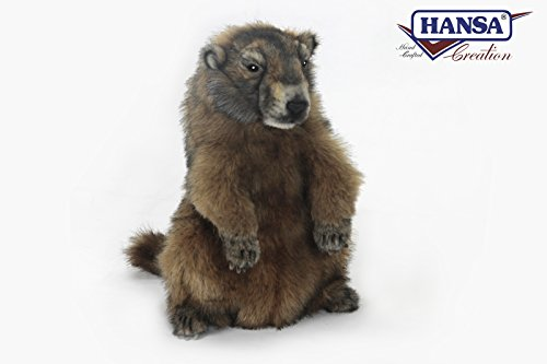 marmot-plush-soft-toy-by-hansa-34cmh-6749-by-hansa