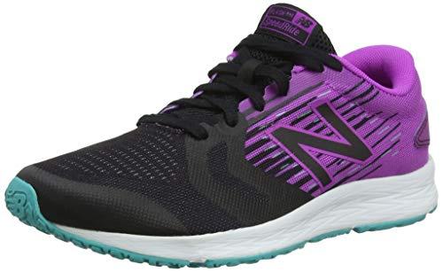 New Balance Flash v3, Zapatillas de Correr para Mujer, Negro Black/Purple, 40 EU