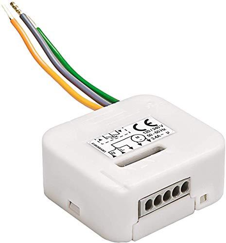 Somfy 2401161 - Micro-module d'éclairage RTS   Micro-récepteur éclairage ON/OFF   Compatible TaHoma