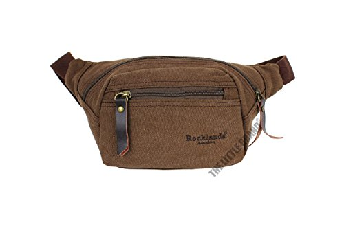 rocklands-london-canvas-brown-waist-pouch-bumbag-money-belt-bag-rl42001