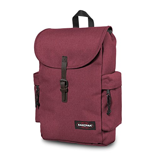Eastpak Zaino Authentic Collection Austin Blu Scuro Rosso (Crafty Merlot)