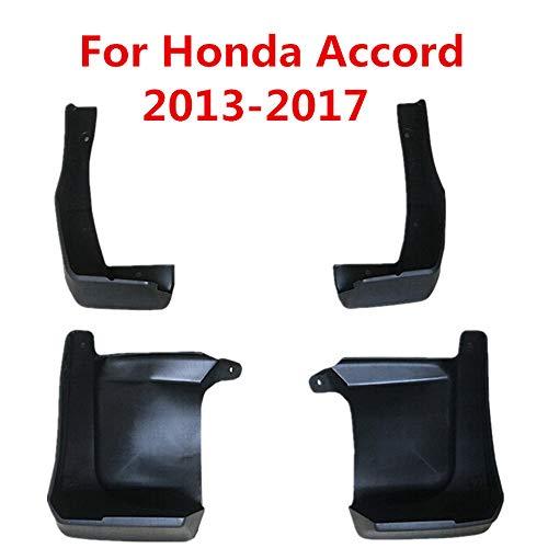BANIKOP Auto-Schmutzfänger-Spritzschutz-Schmutzfänger-Kotflügel-Auto-Styling-Zubehör, für Honda Accord 4 Door 2013-2017
