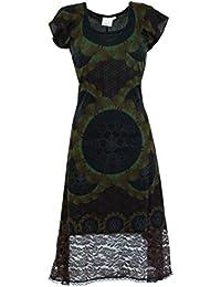 Guru-Shop - Vestido - para mujer