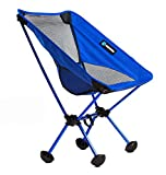 Terralite Portable Camp / Beach Chair Perfect For Beach, Camping, Backpacking, & Outdoor