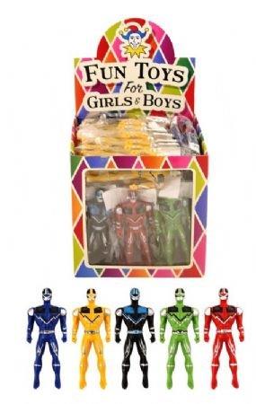 8 x Super Fighter Figuren Jungs - Mitgebsel Give Away Kindergeburtstag Jungen Jungs Mädchen Spielzeug Party Bag Filler Gastgeschenke (Spielzeug Jungen Bag Für Party)