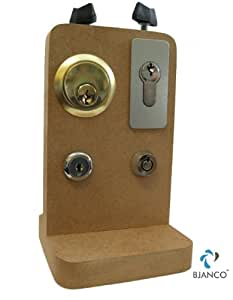 Locksmith's Lock Picking Practice Board Number 5