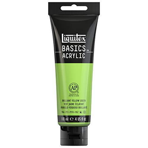 Liquitex Basics Acrylic Color (Bright Yellow Green)