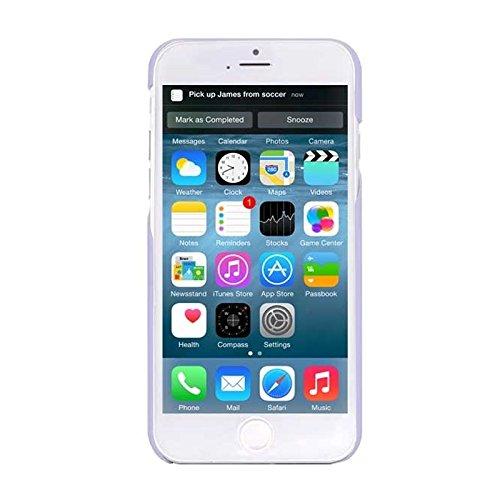 Wkae Case & Cover 0.7mm matériaux ultra - mince protection de polycarbonate pour iphone 6 pc &6s ( Color : Purple )