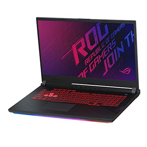 ASUS ROG Strix SCAR III G731GU 43,9cm (17,3 Zoll, FHD, WV, matt) Gaming-Notebook (Intel Core i7-9750H, 16GB RAM, 512GB SSD, NVIDIA GeForce GTX1660Ti (6GB), Windows 10) Black