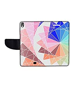 KolorEdge Printed Flip Cover For Gionee Elife S5.1 Multicolor -(50KeMLogo12098GioneeS5.1)
