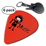 Best Decals for the Wall Teen Books For Girls - Lkadasjlda I Love Music Txt Girl Celluloid Guitar Review