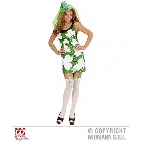 St. Patrick's Day Girl Kleid / Paillettenkleid / Kostüm Gr. S = 36 - (Kostüme Irische)