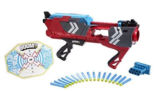 Preisvergleich Produktbild Mattel Boomco CBP42 - Stealth Ambush, Blaster inklusive 16 Smart Stick-Pfeilen mit selbstklebender Rückseite