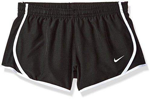 Nike Mädchen Dry Tempo Shorts, Black/White, S