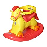 #5: Archana NHR Super 2 In 1 Horse Rocker 'N' Ride On (Red)