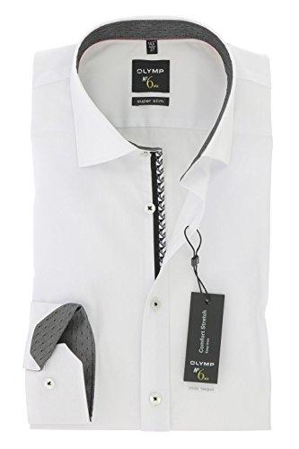 Preisvergleich Produktbild Herren Hemd No. Six Super Slim Fit Langarm