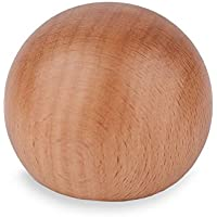 Tapa de madera haya Fijación lacado para pasamanos con diámetro de 40mm