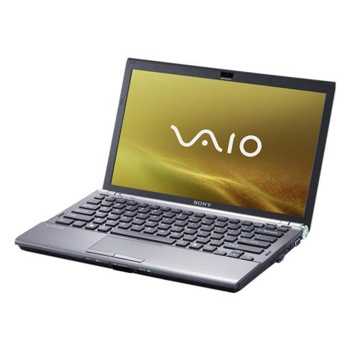 Sony Vaio -Z31MN/B 33,3 cm (13,1 Zoll) WXGA Laptop (Intel Core 2 Duo P8600 2,4GHz, 4GB RAM, 250GB HDD, Nvidia GeForce 9300M GS, DVD+- DL RW, Vista Business) Vista Vaio Laptop Notebooks