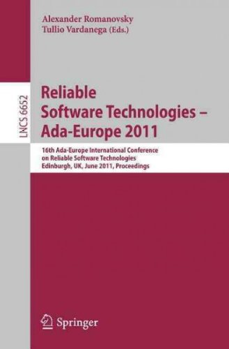 (Reliable Software Technologies - Ada-Europe 2011: 16th Ada-Europe International Conference on Reliable Software Technologies, Edinburgh, UK, June 20-2) By Romanovsky, Alexander (Author) paperback on (08 , 2011)