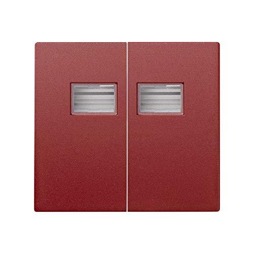 Simon 4400026-037 - Tecla Doble Rojo S.44 Aqua