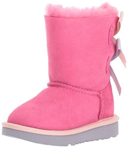 ic Bailey Bow - Kinderstifefel, Lammfellstiefel, Stiefelette 1017394, Pink-Blau (Pink-Iceblue), US k09 / EUR 26 ()