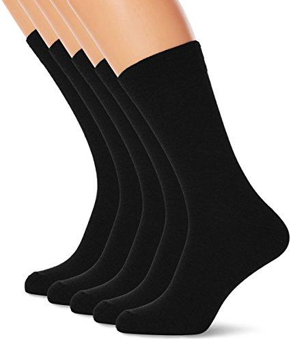 marathon-mens-5-pack-socks-black-black-one-size-manufacturer-size40-46