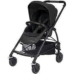 Bébé Confort Mya, Compacte et légère, Poussette citadine, De la naissance à 3,5 ans (0-15kg), Nomad Grey