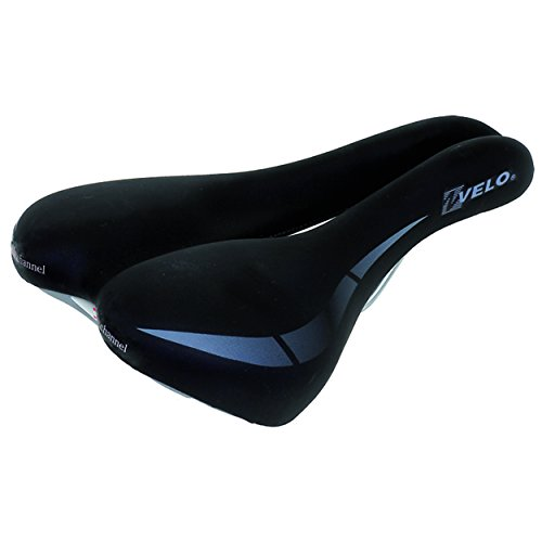 Velo Damen Sattel wide: channel-f, 250x168 mm