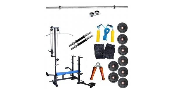 Gymmart in bench with kg home gym equipments and ft