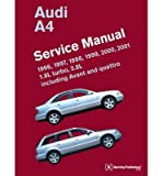 [(Audi A4 Service Manual 1996-2001)] [By (author) Bentley Publishers] published on (November, 2012)