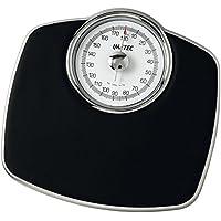 Imetec F-Light Medical-Pro - Báscula de baño (Báscula de baño analógica, 180 kg, kg, Negro, Analógico)
