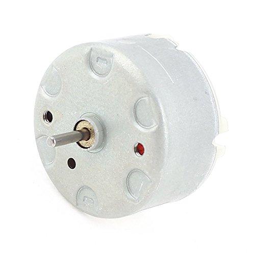 Elektromotoren - SODIAL(R) RF-500 TB-12560 DC1.5-12V 2700 U/MIN Leerlaufdrehzahl 32mm Durchmesser DC Motor Silber