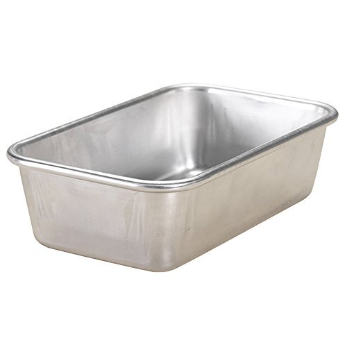 Nordic Ware Natural Aluminum Commercial Loaf Pan, 1.5 Pound by Nordic Ware 1.5 Lb Loaf Pan