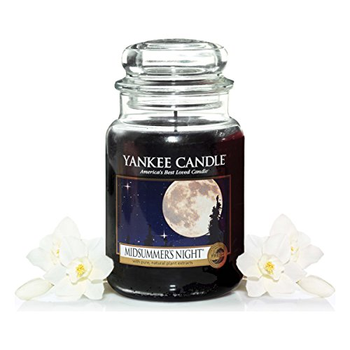 Yankee Candle Glaskerze, groß, Midsummer Night
