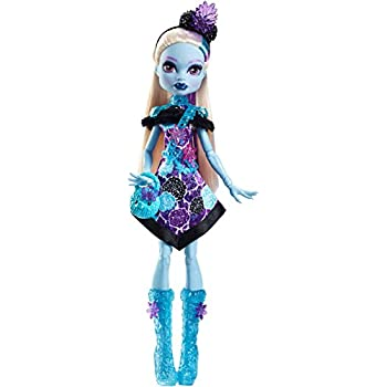 c946c3cda6e Monster High Abbey Bominable Doll Daughter of the Yeti: Amazon.co.uk ...