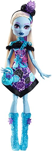 Mattel Monster High FDF12 - Partymode Monsterfreundin Abbey -