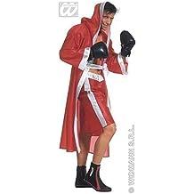 Disfraz de boxeador / Traje monumental Boxer / Bata boxeo en rojo Talla M=50