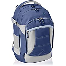 AmazonBasics - Ergonomischer Rucksack, Marineblau