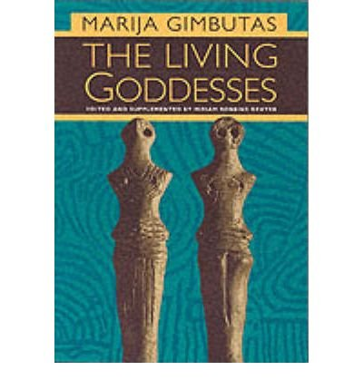 [LIVING GODDESSES] by (Author)Gimbutas, Marija on Jan-12-01