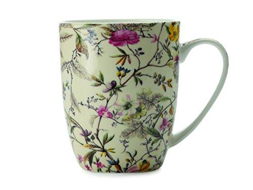 Maxwell & Williams WK03400 Kilburn Becher, Kaffeebecher, Tasse, Summer Blossom, in Geschenkbox, Porzellan (Floral Box Porcelain)