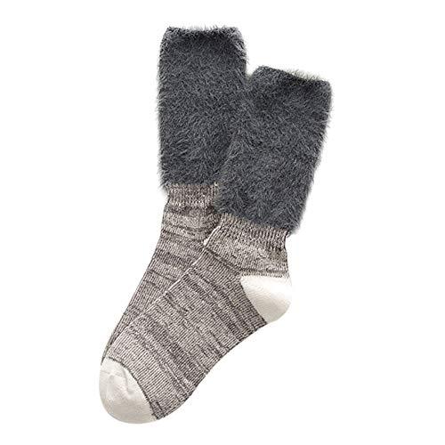 JUTOO Frauen Mädchen Baumwolle Stiefel Manschetten wärmer Bein Strümpfe