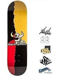 Monopatín skate skateboard Toy Machine TM 8.5 RIP TORN MONSTER complete