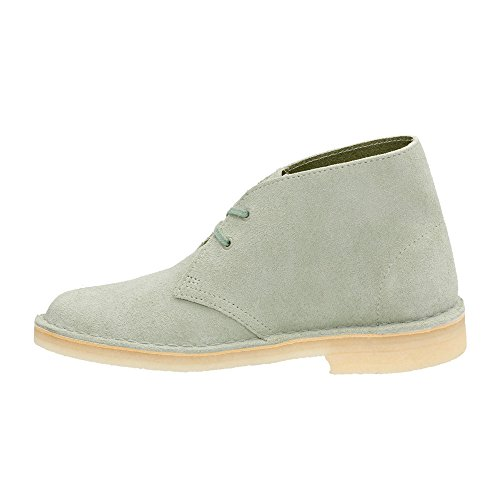 Up Boot Desert Pale Clarks Boot Lace Suede Green Womens pIxpXnS