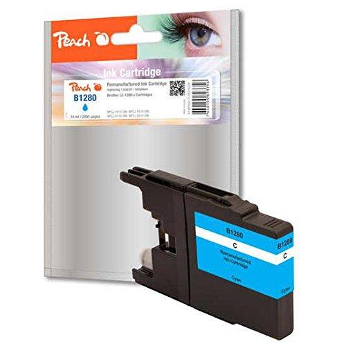 Preisvergleich Produktbild Peach XL-Tintenpatrone cyan kompatibel zu Brother LC-1280 c