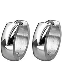Pasionista 603032 - Pendientes unisex de acero inoxidable