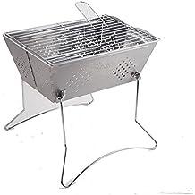 Parrillas de barbacoa al aire libre Home plegable portátil de acero inoxidable Grill , 31.8*34*23.8