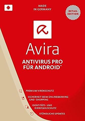 Avira AntiVirus Pro Android 2017 (2 Geräte / 1 Jahr)